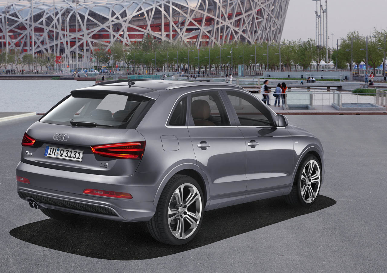 audi q3 quattro s line rear thoughts on automotive design. Black Bedroom Furniture Sets. Home Design Ideas