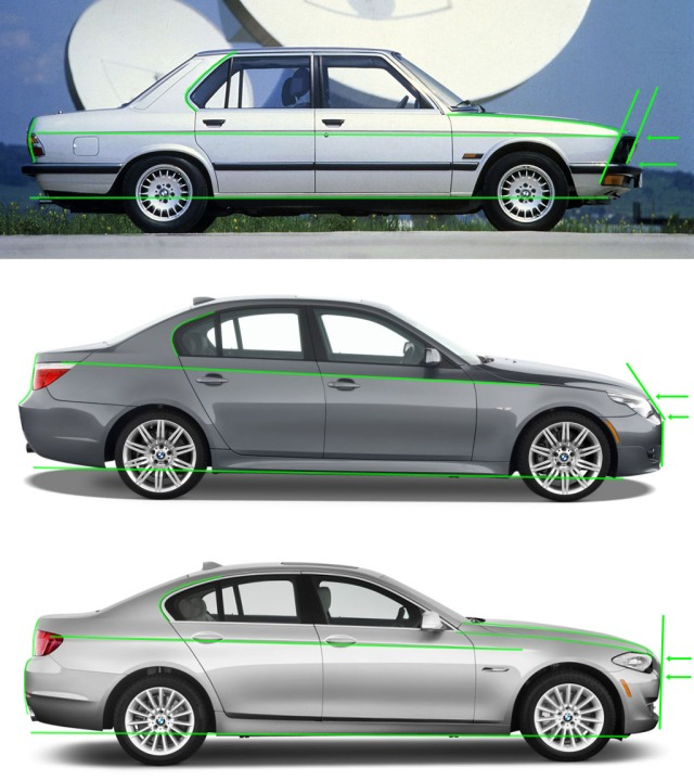 evolutie design bmw