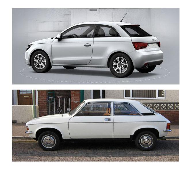 Audi Vs Austin Thoughts On Automotive Design - Austin audi