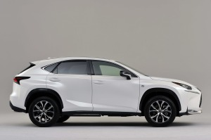 Lexus NX production version