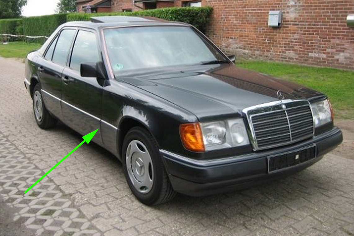 Mercedes W-124 German model