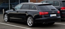 Audi_a6_avant_s-line_u(C7)u heckansicht,_11._Februar_2013,_d_sseldorf