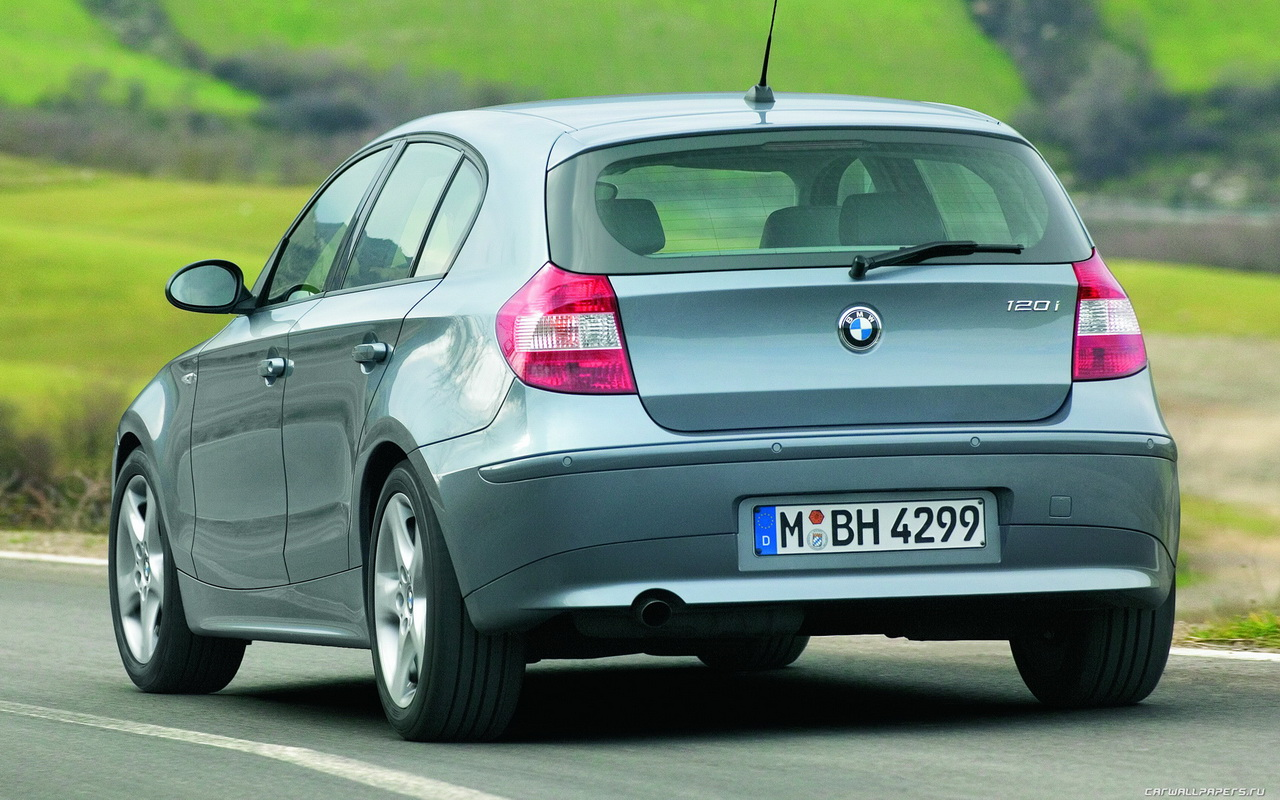 BMW 1-series pinch surface