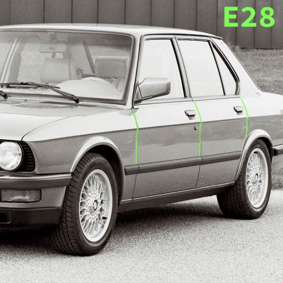 宝马M5 E28底切