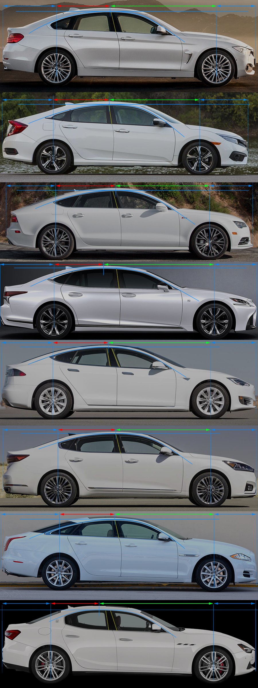 Lexus LS-side-profileplusothers@0,75x